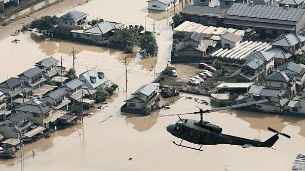 ارتفاع حصيلة ضحايا سيول اليابان إلى 176 قتيلاً