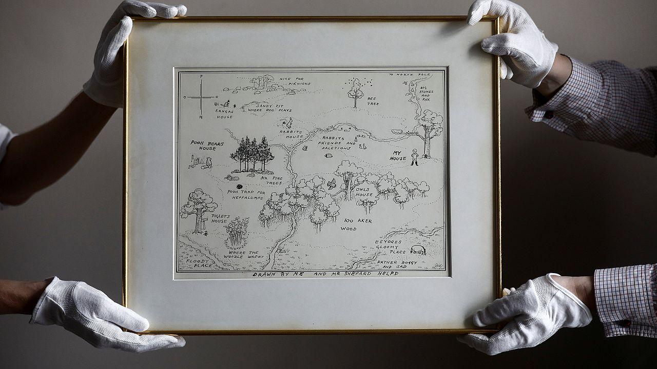 Kisebb vagyonért vették meg a Százholdas pagony térképét