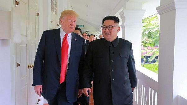 """ترامب يتحدث عن هدية """"خاصة"""" للزعيم الكوري"""