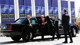 USA-német szópárbaj a NATO-csúcs előtt