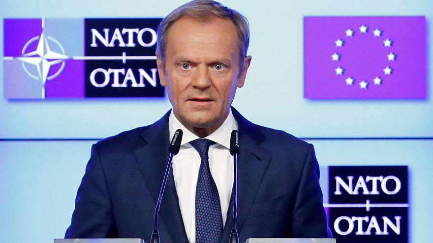 رئيس المجلس الأوروبي لترامب: قدر حلفاءك فليس لديك الكثير