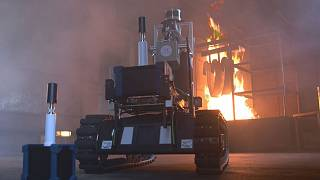 Роботы - помощники пожарных