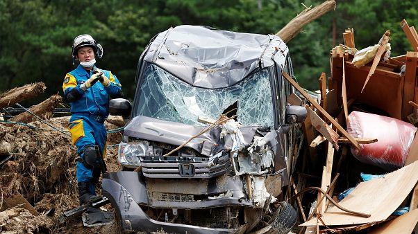 Japon : terrible bilan des inondations