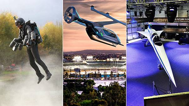 'Iron man', flying taxis and super-speed travel:  What to expect at the Farnborough Airshow 2018