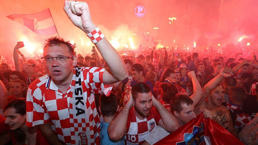 Rusya 2018 Dünya Kupası: Hırvatistan ikinci finalist