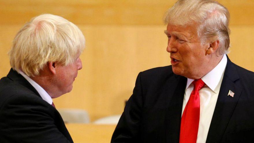 ترامب: لست متاكدا من لقائي مع جونسون والبريطانيون هم من يقرروا بقاء ماي في منصبها