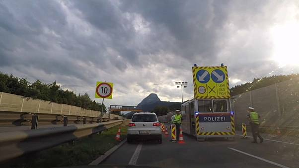 Ideiglenes osztrák határellenőrzés