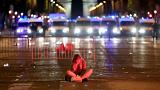 Violentos enfrentamientos en Francia después del partido contra Bélgica