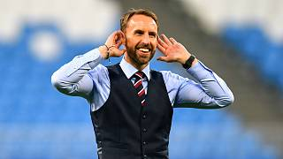 Fans follow suit to salute Southgate ahead of England's World Cup semi-final