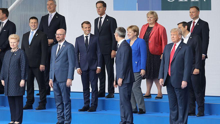"""حصيلة اليوم الأول لقمة """"منظمة حلف شمال الأطلسي"""" في بروكسل"""