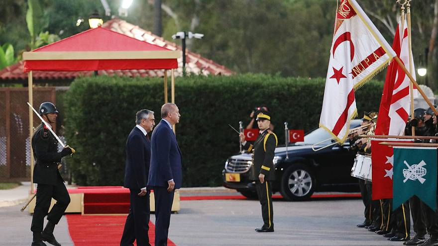 Η σημειολογία της επίσκεψης Ερντογάν στα κατεχόμενα