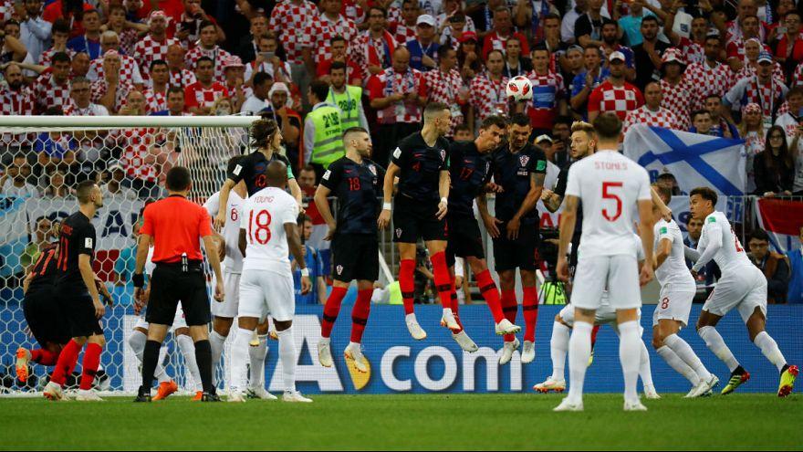 پوشش لحظه به لحظه مرحله نیمه نهایی جام جهانی در یورونیوز فارسی؛ پیروزی دو بر یک کرواسی بر انگلیس