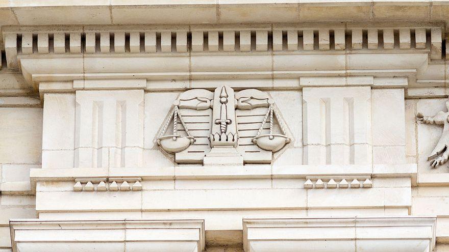 واجهة قصر العدل في مدينة رين الفرنسية