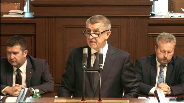 Vertrauensabstimmung im Prager Parlament
