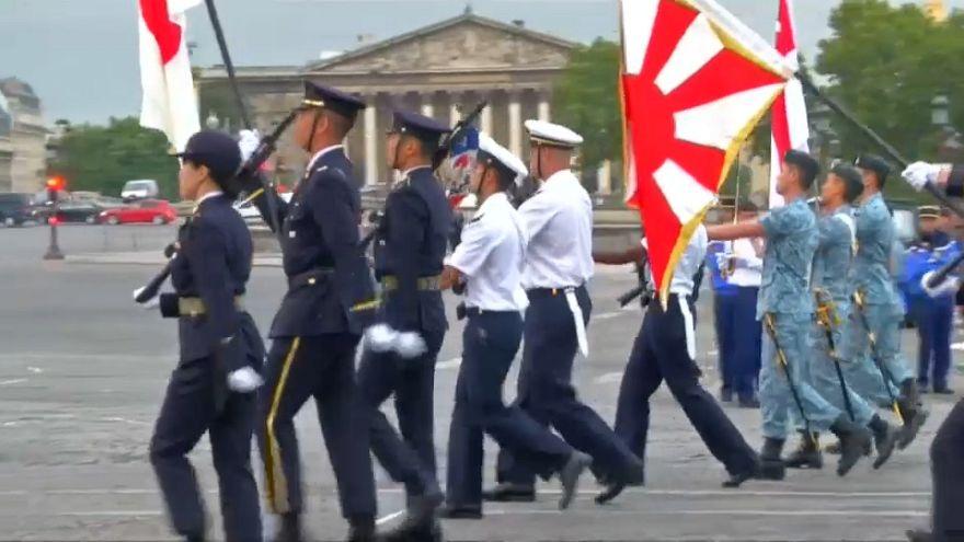 France : le Japon et Singapour, invités d'honneur du défilé du 14 juillet