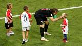 In pictures: Players' kids hit the pitch at World Cup