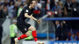 كأس العالم 2018: مانزوكيتش يقود كرواتيا إلى نهائي مونديال روسيا على حساب إنجلترا