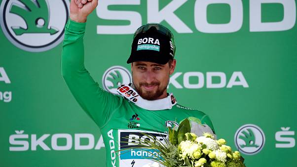 Radsport-Champion Peter Sagan Star der Tour de France