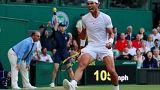 Nadal gana a Del Potro y pasa a las semifinales de Wimbledon