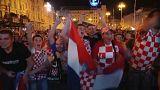 Торжества на улицах Загреба