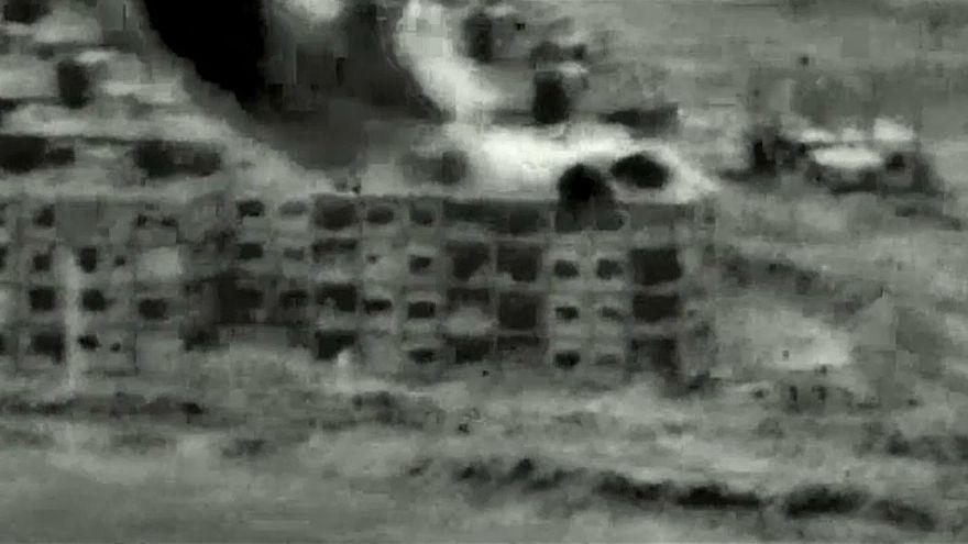 غارات صاروخية إسرائيلية على مواقع للجيش السوري بسبب طائرة مسيرة