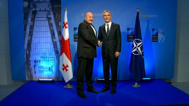 La OTAN, a favor del ingreso de Georgia y Ucrania en la Alianza