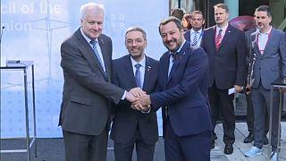 Alemanha, Itália e Áustria unem-se contra imigração ilegal