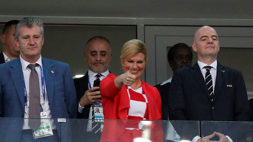 شاهد: رئيسة وزراء كرواتيا توجه رسالة جديدة بعد صعود منتخبها لنهائيات مونديال روسيا