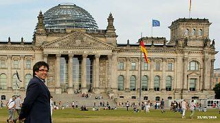 Carles Puigdemont en Allemagne
