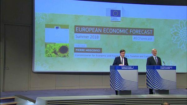 La escalada arancelaria enfría las previsiones de crecimiento de Bruselas