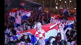La folie du mondial enflamme Zagreb