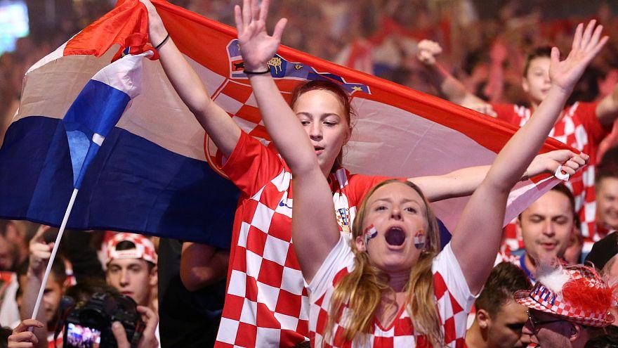 """""""Πήρε φωτιά"""" η Κροατία"""