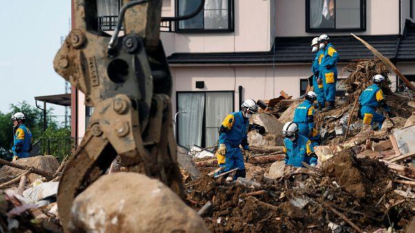 Intempérie já fez mais de 200 mortos no oeste do Japão