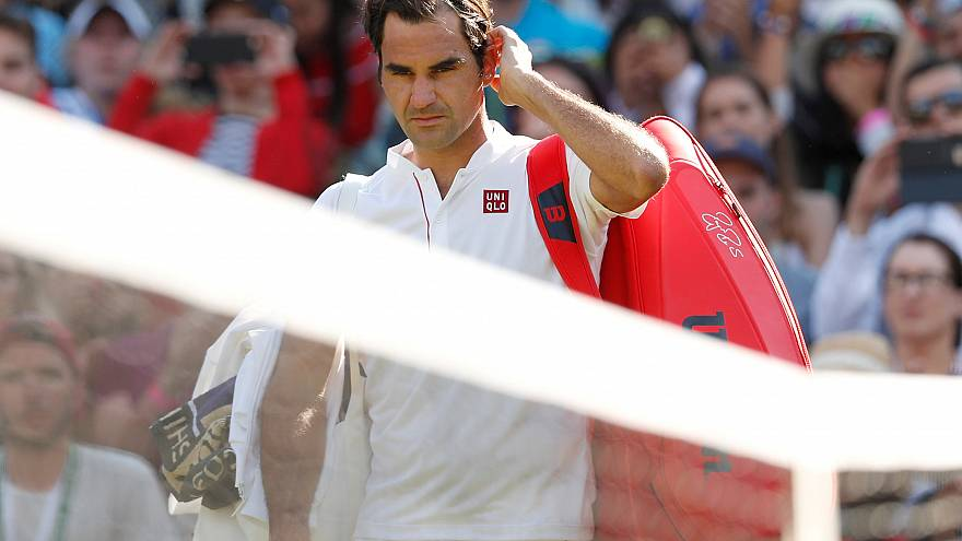 Federer'e Wimbledon'da şok: Çeyrek finalde elendi