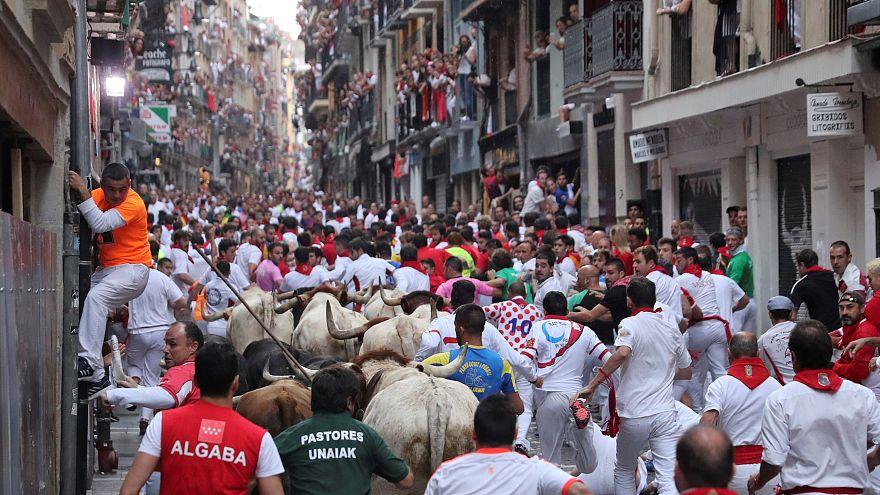 NO COMMENT: É o fim das festas de São Firmino em Pamplona