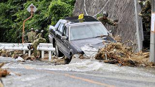 Intempéries au Japon : le bilan dépasse les 200 morts