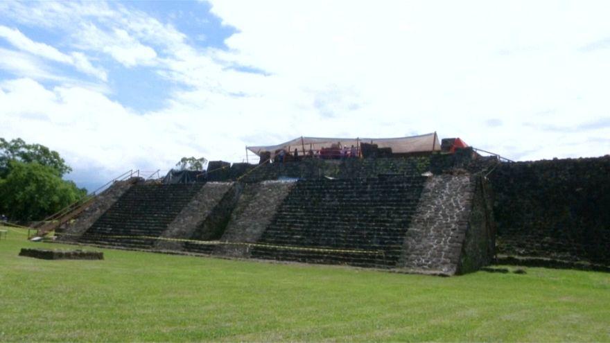 Hallazgo arqueológico tras el terremoto de México