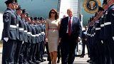 ترامب يصل إلى بريطانيا في أول زيارة له منذ توليه الرئاسة