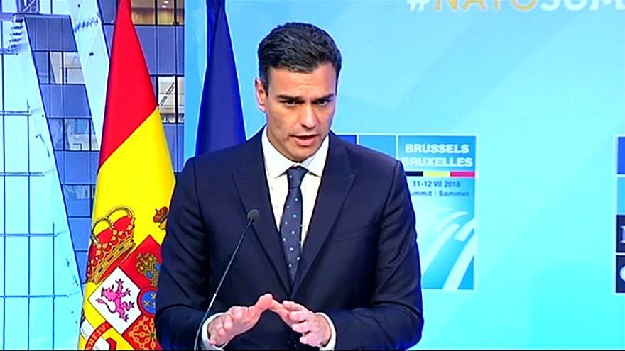 """Pedro Sánchez: """"Las resoluciones judiciales no se califican, se respetan"""""""