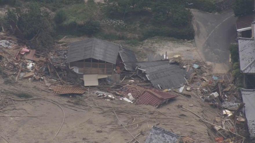 Lucha contrarreloj en Japón para encontrar supervivientes