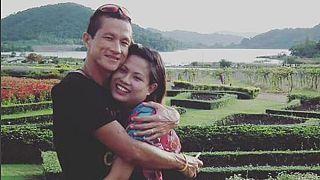 """""""A szívemben élsz"""" - szívszorító, ahogy férjét gyászolja a thai búvár fiatal özvegye"""