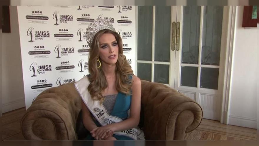 First-ever transgender Miss Universe contestant