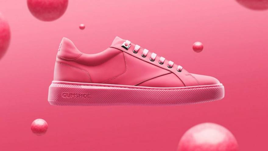 أحذية رياضية جديدة مصنوعة من العلكة!