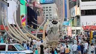 شاهد: كيف ستكون الحياة في نيويورك بعد أن تغمرها المياه؟