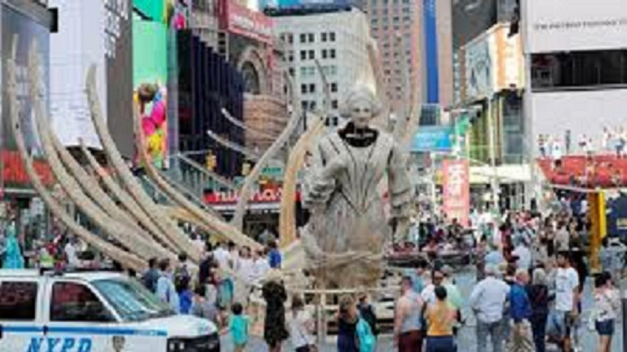 Artista Mel Chin inunda Nova Iorque