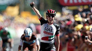 Daniel Martin conquista el Muro de Bretaña en el Tour de Francia