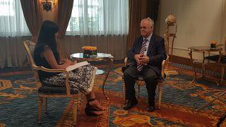 Ο αντιπρόεδρος της κυβέρνησης Γ.Δραγασάκης στο euronews