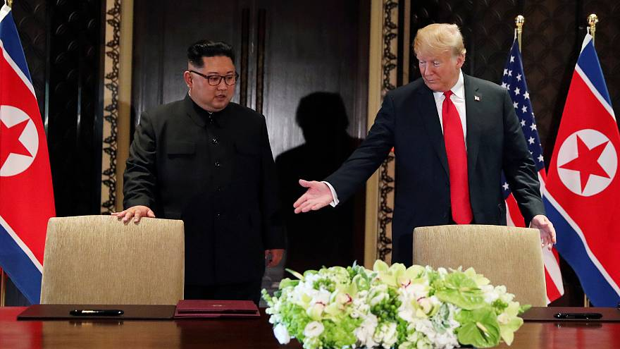 """Loa de Kim a Trump, la carta """"amable"""" del líder norcoreano"""