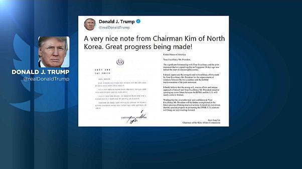Liebesgrüße aus Pjöngjang - Trump twittert
