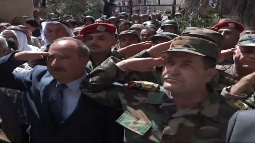 Syrische Armee hisst Flagge über Daraa